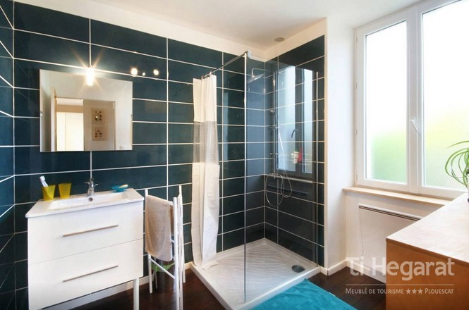 Salle de bain location Plouescat